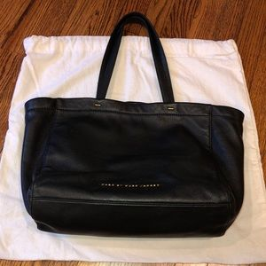 Marc Jacobs Black Leather Tote